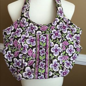 Lovely Plum Petals Vera Bradley Bag